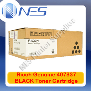 Ricoh Genuine 407337 BLACK Toner Cartridge for SP-3600DN/SP-3610SF (6K)